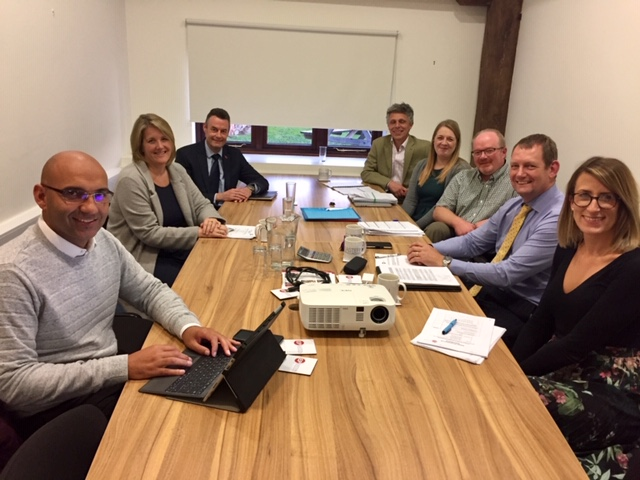 First Meeting of the New EP Board 2018